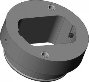 Ablegeplatte für werkzeugwechsler BXC 20